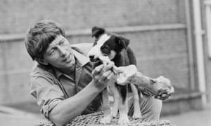 John Noakes with Shep.