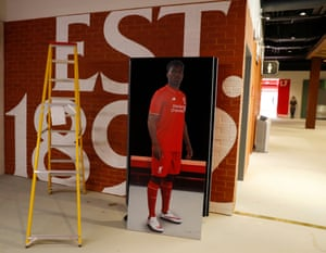 A photograph of Daniel Sturridge is waiting to find a new home