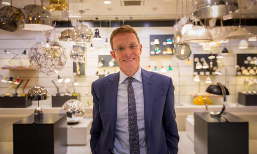 Andy Street, managing director of John Lewis for the last 10 years.