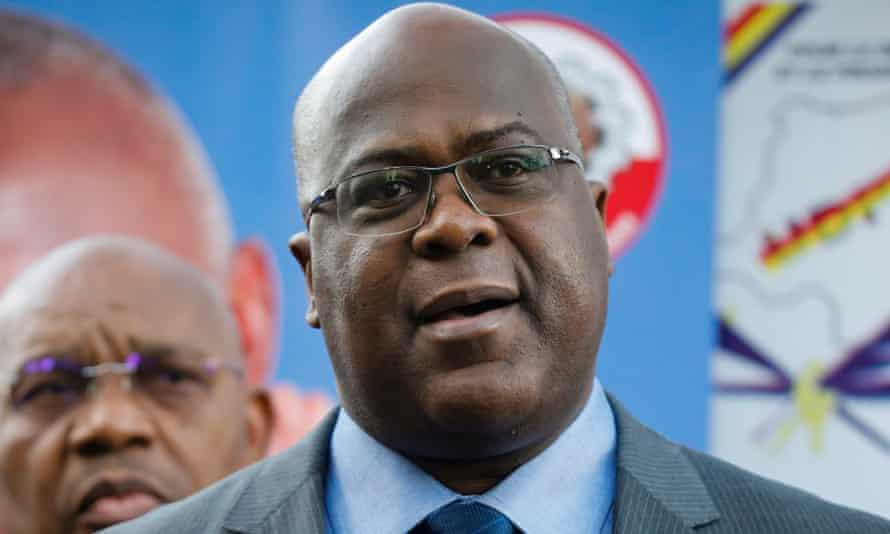Democratic Republic of Congo opposition candidate, Felix Tshisekedi.
