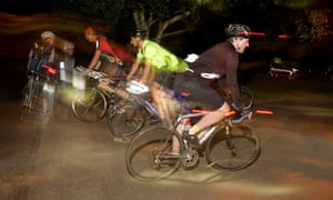 The Dunwich Dynamo - the annual 120-mile overnight bike race from London to Dunwich in Suffolk.