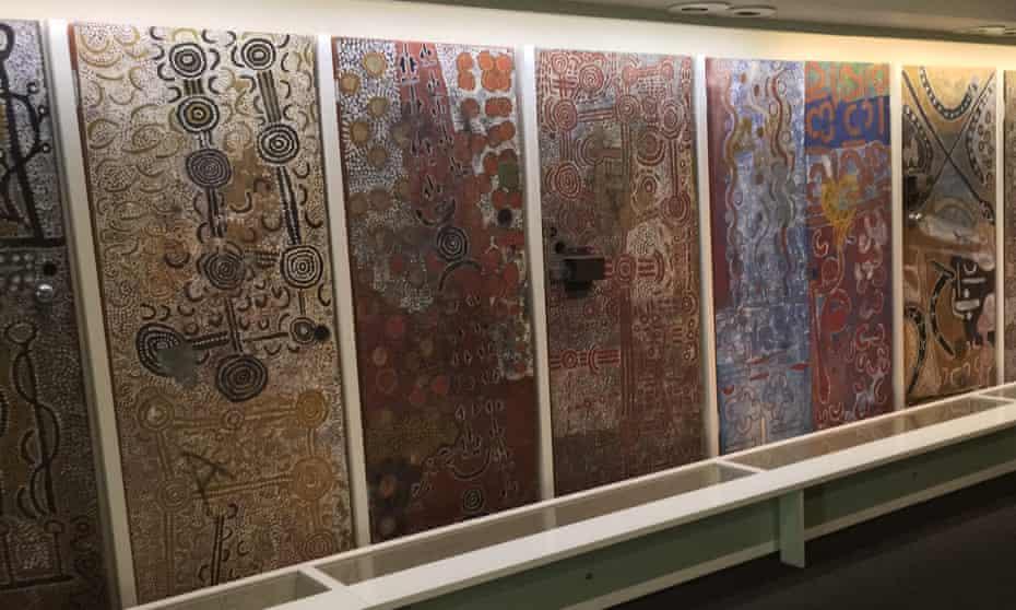The Yuendumu school doors