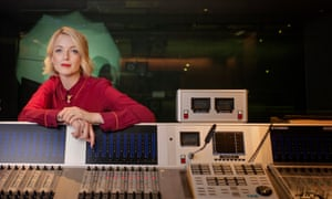 Laverne in the Radio 4 Woman's Hour studio.