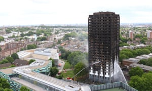 Grenfell Tower went up in flames in June.