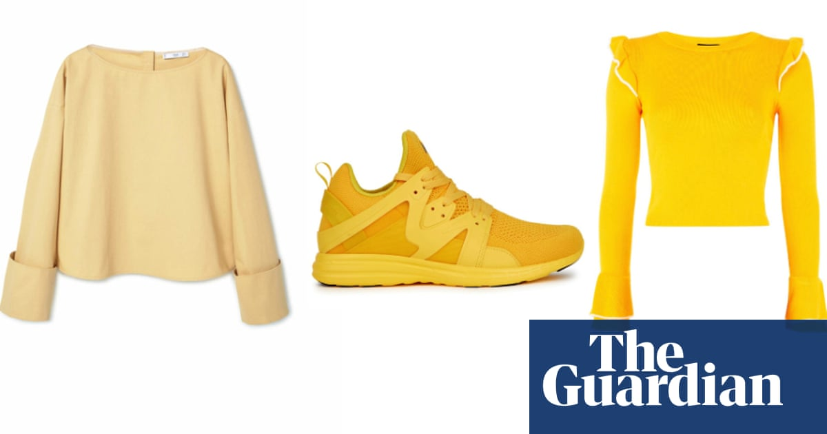 Yellow: the impact colour of spring/summer 2017 – in pictures