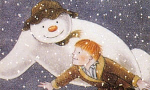 The ultimate Christmas book? Raymond Briggs's The Snowman.