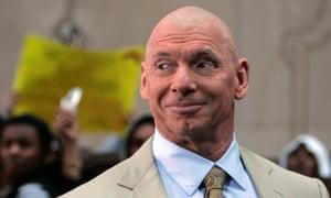World Wrestling Entertainment chairman Vince McMahon