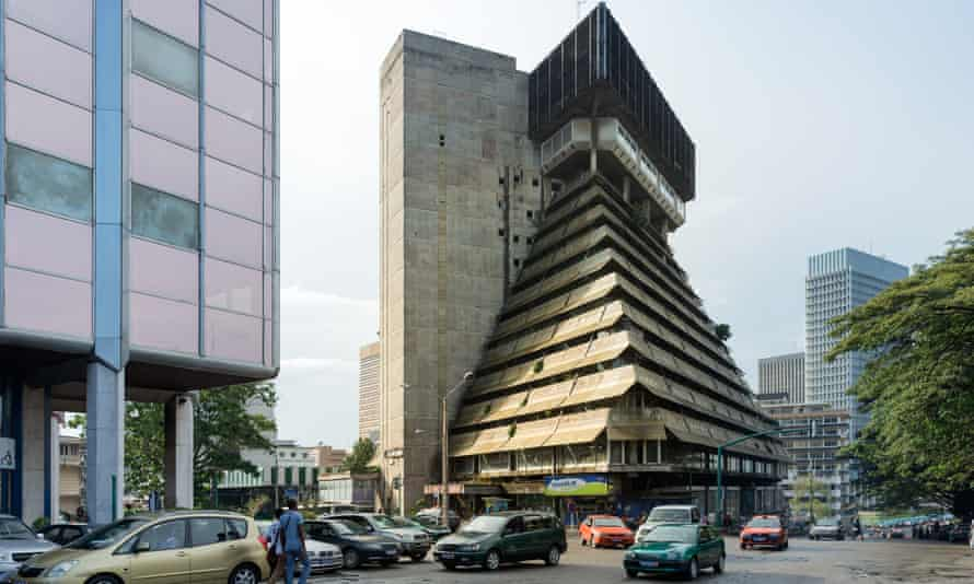 La Pyramide in Abidjan, Ivory Coast, by Rinaldo Olivieri – part of Architecture of Independence: African Modernism.