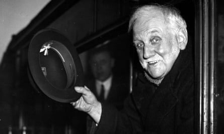 George Lansbury pictured in 1937