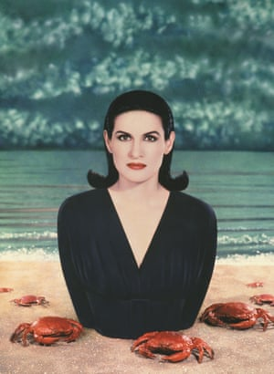 Paloma Picasso (1990) Model: Paloma Picasso Cover of Jardin des Modes magazine Private collection, courtesy Noirmontartproduction, Paris