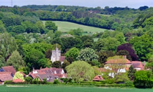 The green belt Chiltern area – with its picturesque villages (Little Missenden pictured) and smart towns is considered a wealthy area.