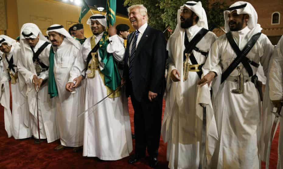 'By the end of his visit, it was clear that Trump had aligned US foreign policy with Saudi Arabia's vision of the Middle East, which portrayed its rival Iran as the greatest threat.'