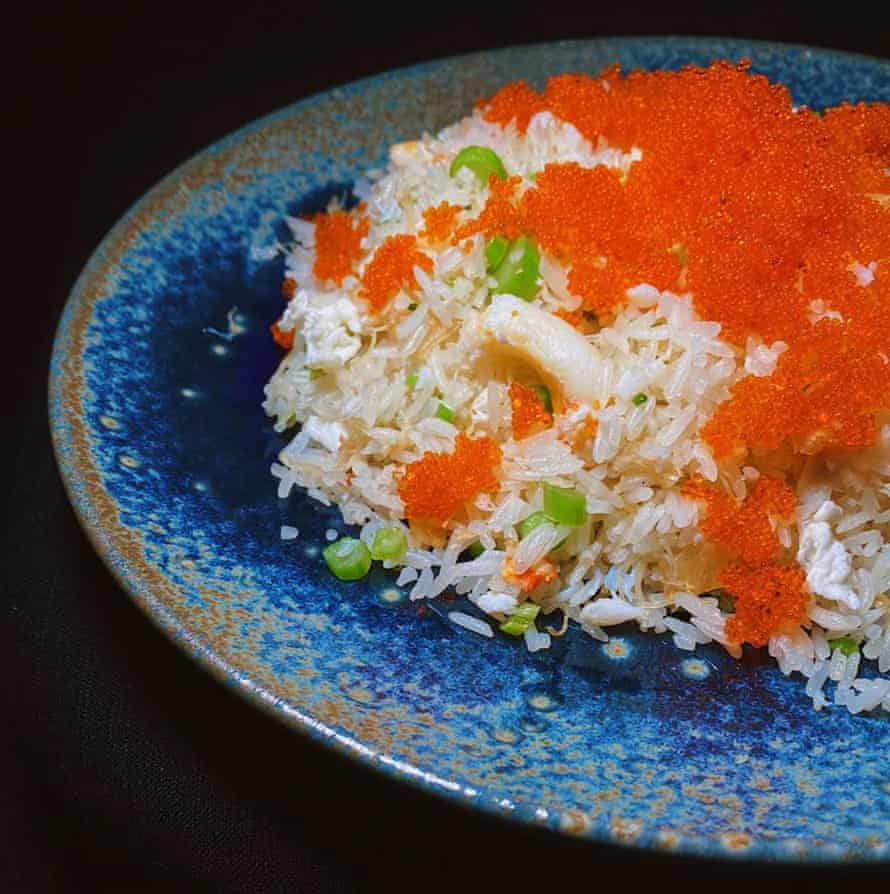 Billionaire fried rice from the Isol-asian cookbook