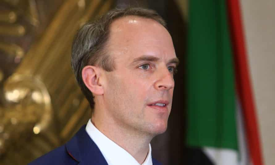 Dominic Raab was speaking 'candidly' to civil servants, the Foreign Office permanent secretary said.