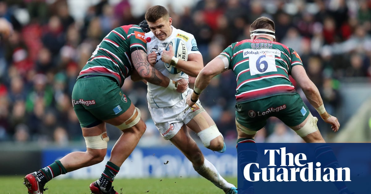 England's Henry Slade suffers 'serious' ankle injury with Six Nations looming