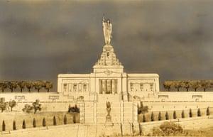 National American Indian Memorial - Hastings etc, 1909
