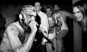 GG Allin, subject of Todd Phillips 1993 documentary Hated.