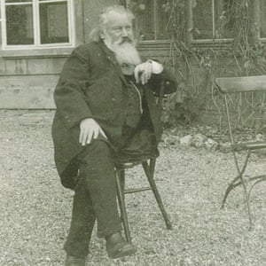 Brahms photographed by Maria Fellinger in 1894