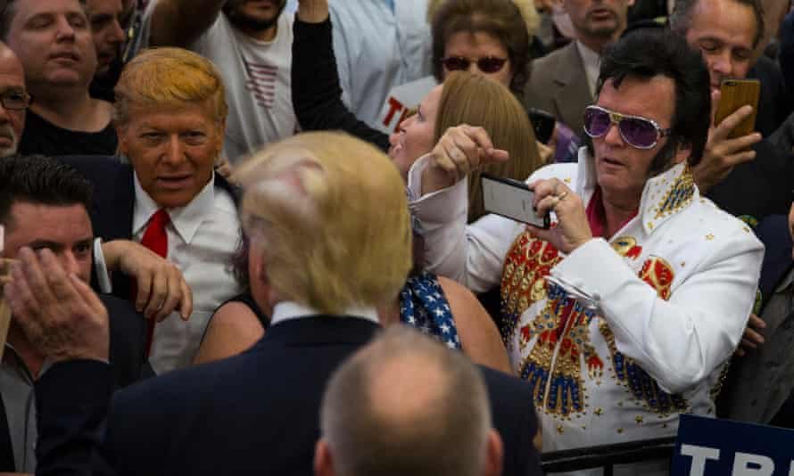 Robert Ensler meets Donald Trump