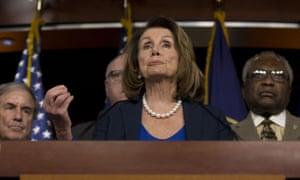 Minority Leader Nancy Pelosi.