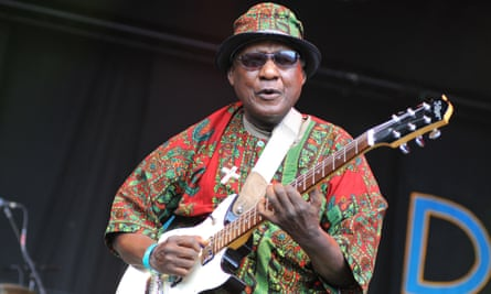 Ebo Taylor performing at Womad in 2011.
