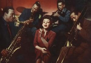 Judy Garland in A Star Is Born (1954).