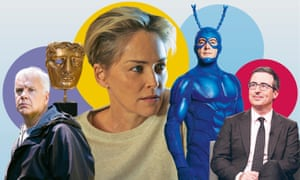 Here and Now; British Academy Film Awards 2018; Mosaic; The Tick; Last Week Tonight with John Oliver.