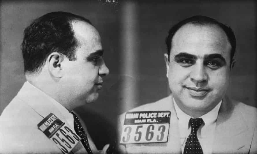 Al Capone police mugshot