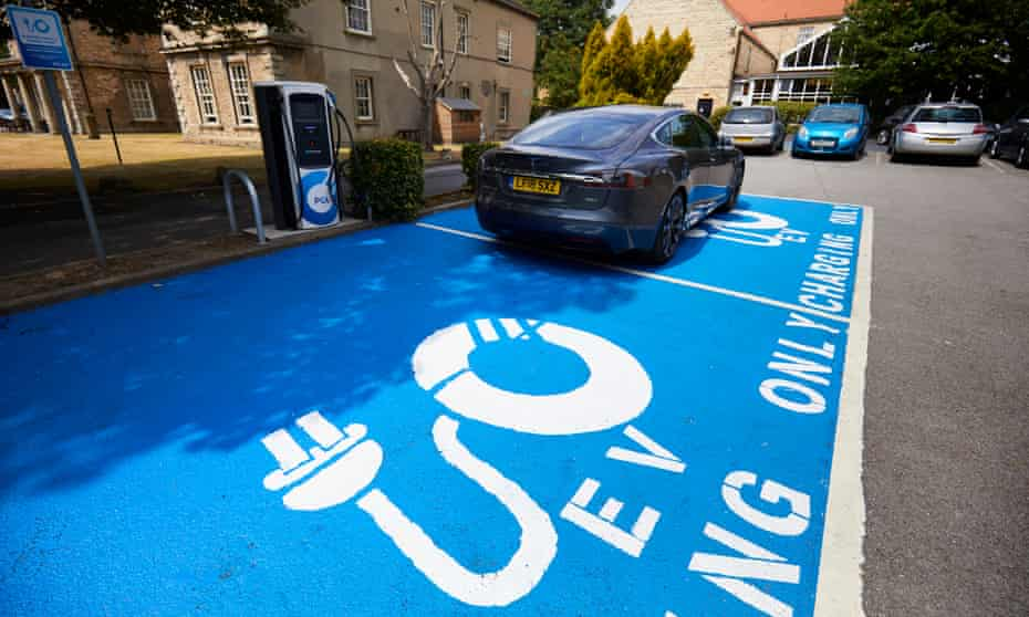 Electric vehicle charging site