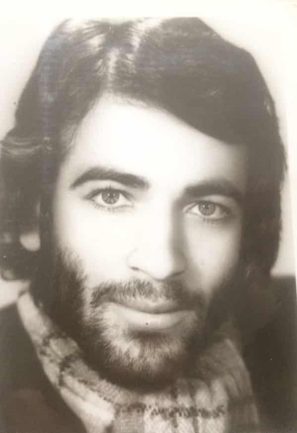 Arianne Shahvisi's father around the time of his migration to the UK in 1976.