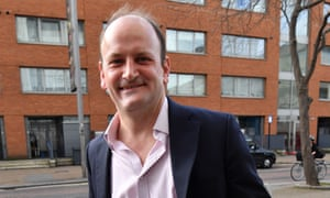 Douglas Carswell before his interview on Peston on Sunday
