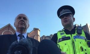 West Midlands police and crime commissioner, David Jamieson, and West Midlands police chief constable, David Thompson