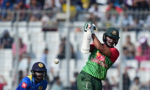 Shakib Al Hasan is serving a two-year ban for failing to report corrupt approaches