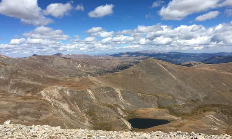 Colorado has 58 mountains over 14,000' high