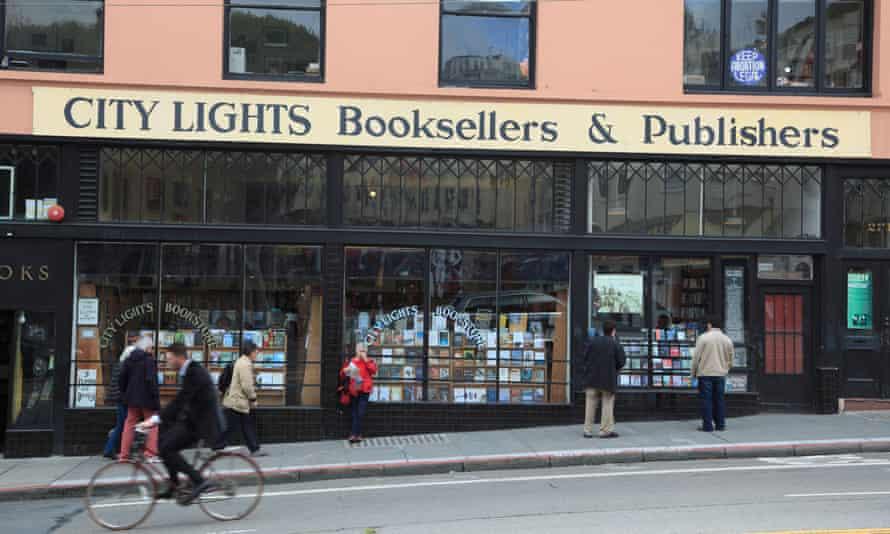 City Lights Booksellers, San Francisco, California,