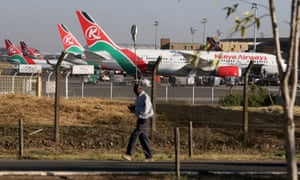 Man who fell from plane 'could be Nairobi airport employee