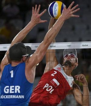 Germany v Poland, beach volleyball