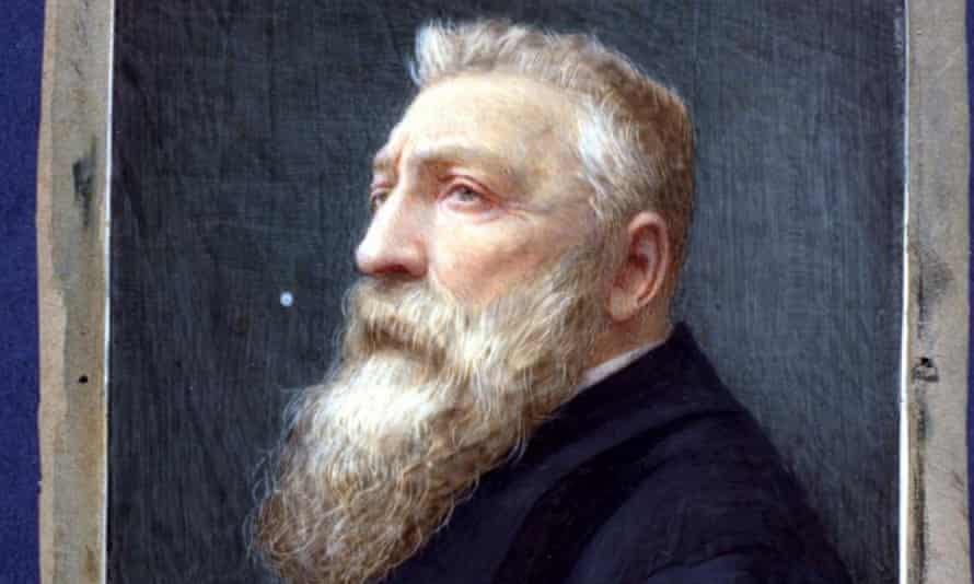 Detail from the painting of the sculptor Rodin that was wrongly captioned.