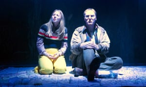 Excellent performance … Charlotte Beaumont as Susie with Keith Dunphy as Susie's killer, Mr Harvey.
