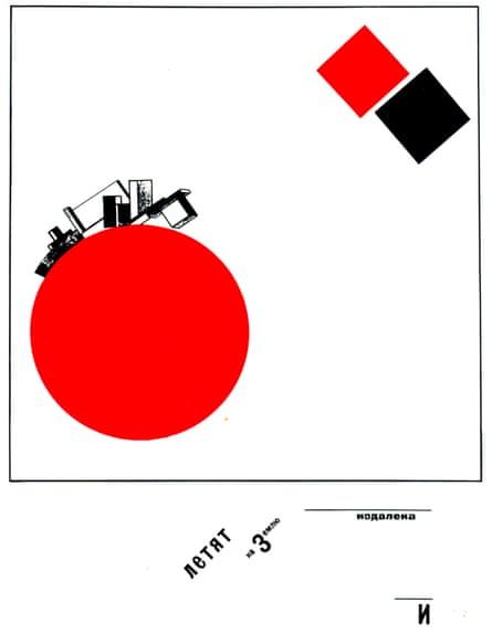 El Lissitzky's 1922 Suprematist Tale in Six Constructions.