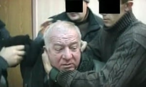 Sergei Skripal being arrested in Moscow 2004.