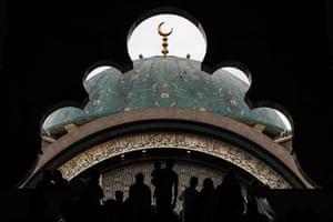 The Federal Territory Mosque in Kuala Lumpur, Malaysia