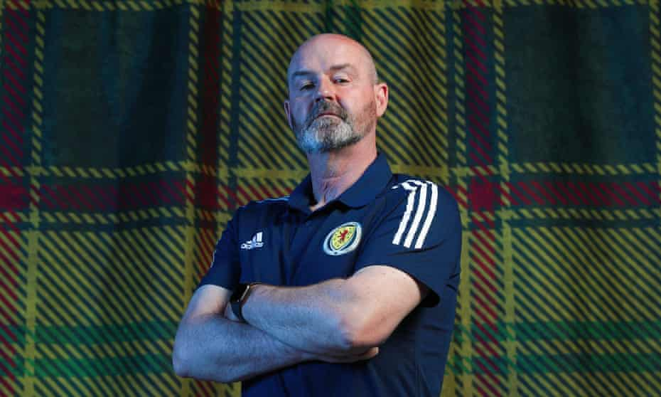 Scotland's manager Steve Clarke pictured in Spain last month during preparations for Euro 2020