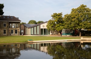 £1.3m lottery funding helped pay for the new museum pavilion in Pinner Memorial Park.
