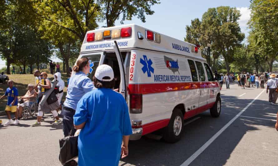 A US ambulance