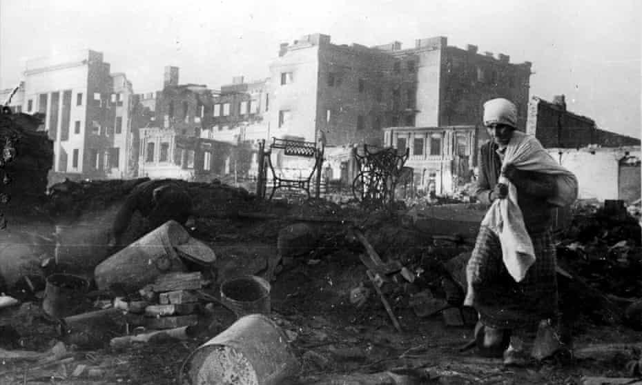 War-torn Stalingrad, 1942.