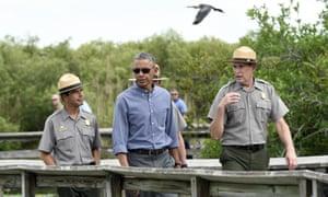 barack obama everglades national park