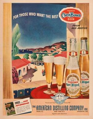 A 1943 Carta Blanca ad