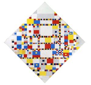 Victory Boogie Woogie, c1942-1944, Piet Mondrian.