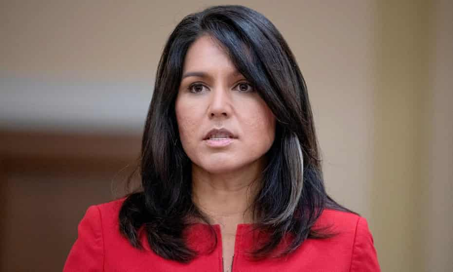 Tulsi Gabbard's critics argue her views on foreign policy, immigration and gun laws warrant more scrutiny and undermine the agenda upon which Democrats are campaigning across the US.